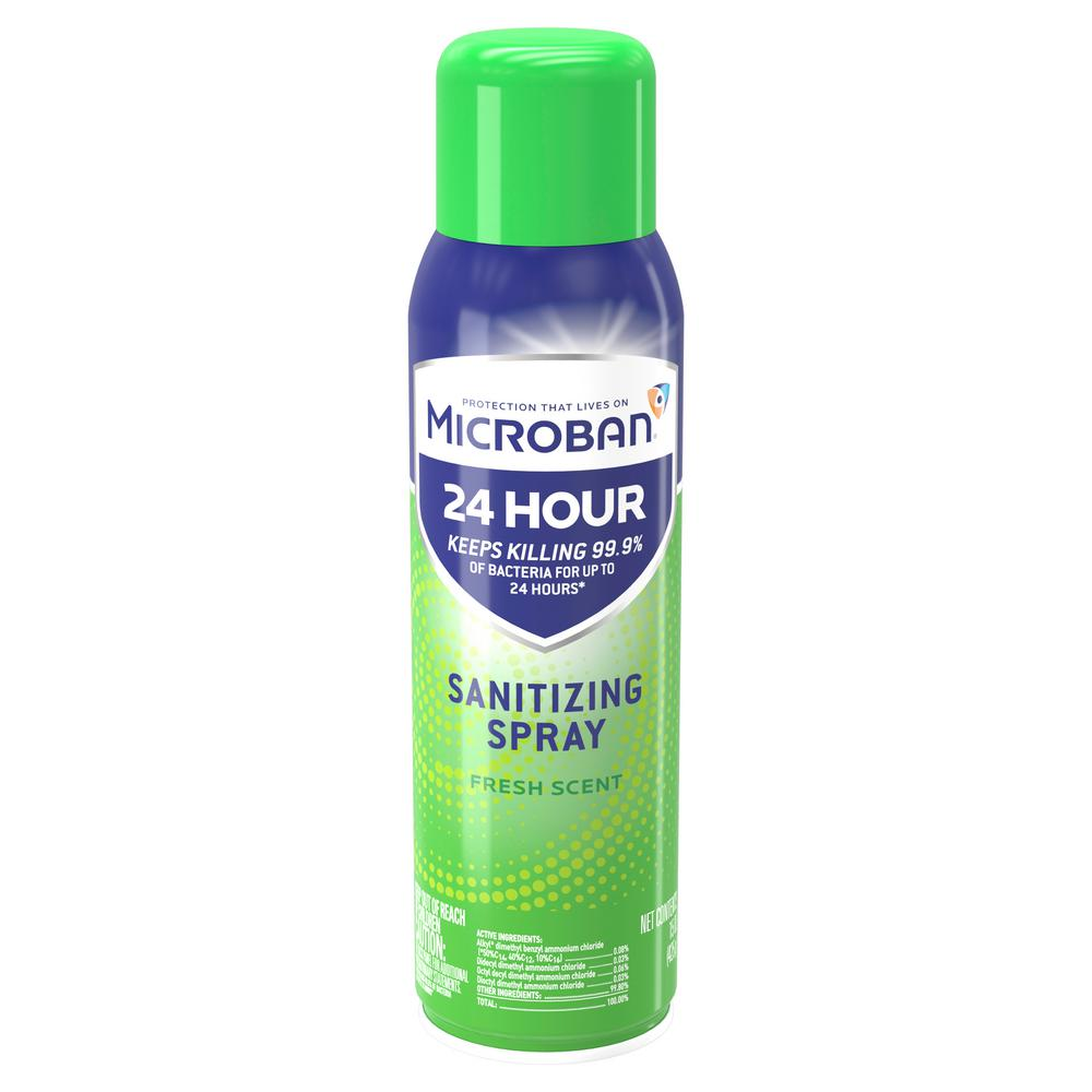 aerosol disinfectant spray