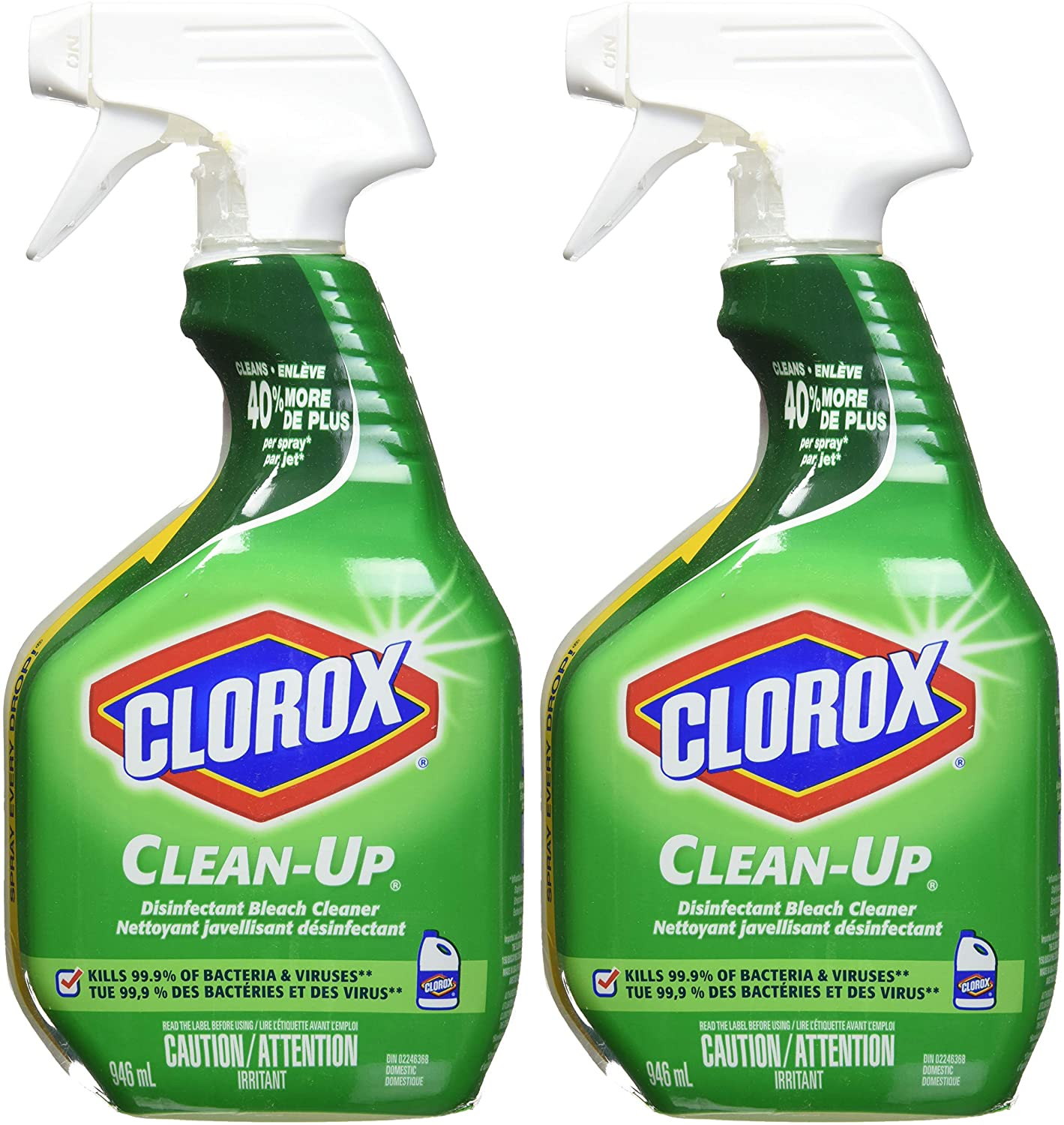 clorox spray