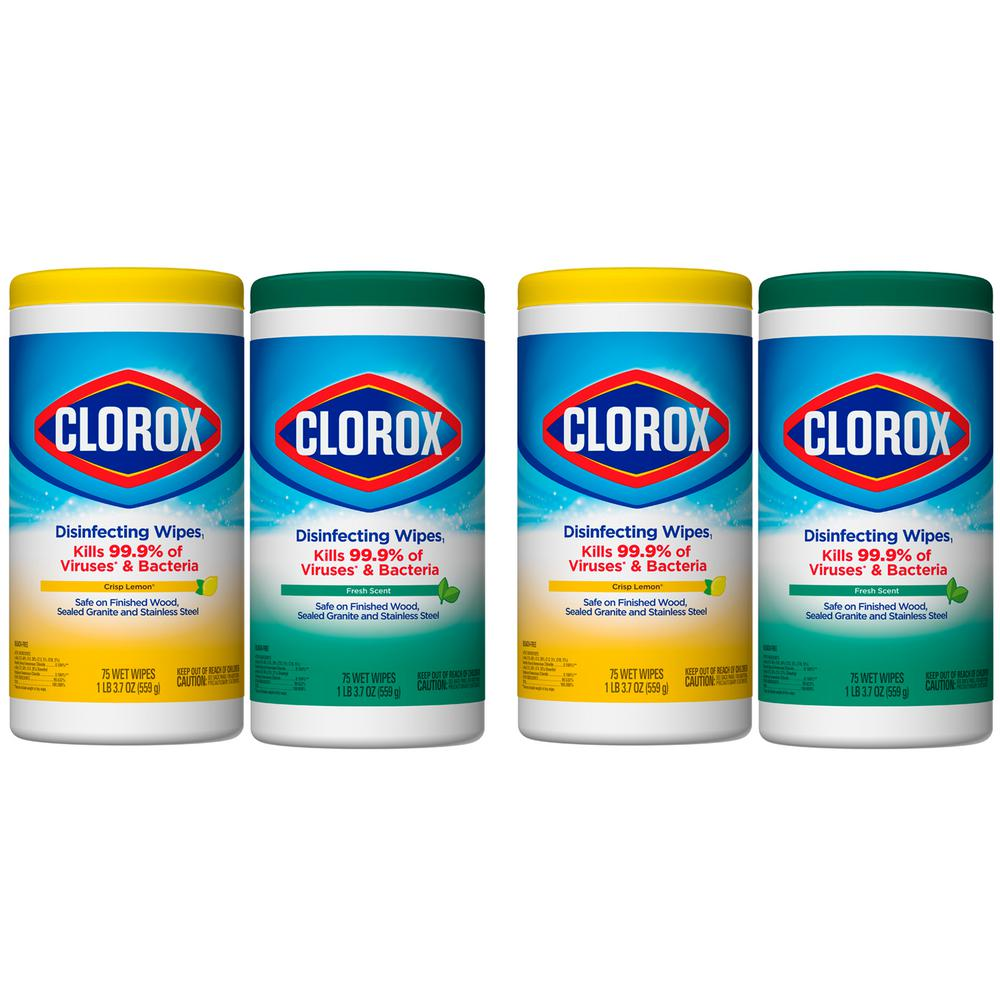 clorox wipes in stock