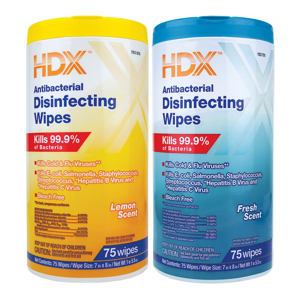 disinfectant wipes in stock