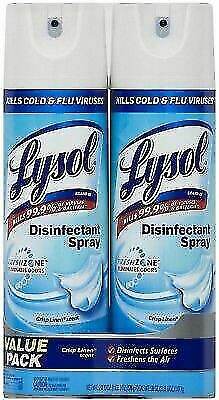 lysol disinfectant spray in stock