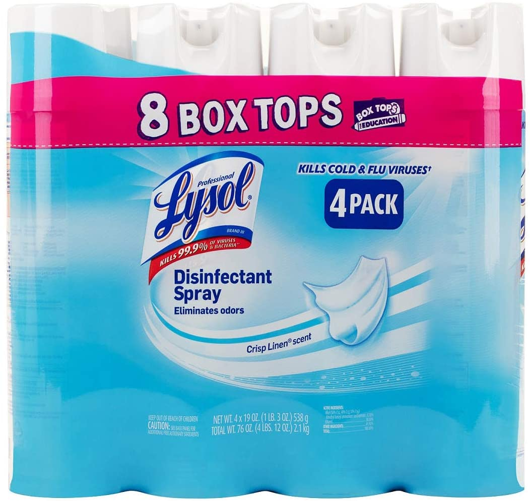 lysol spray amazon