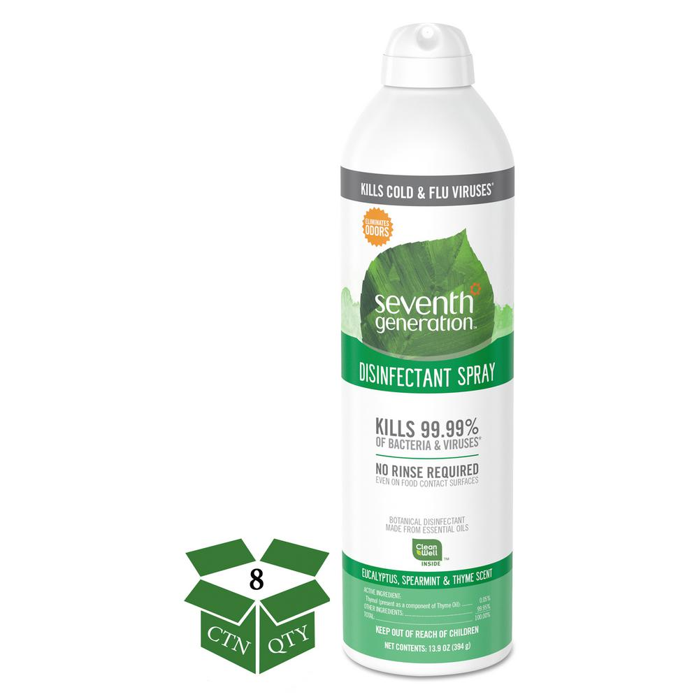 seventh generation disinfectant spray